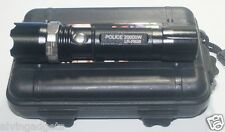 Police 20000W LED Flashlight Zoomable With Hard Case,Battery 18650 & Charger