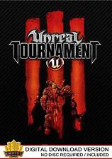 Unreal TOURNAMENT 3 Nero PC (VAPORE download key)