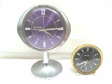 Westclox Big Ben Repeater & Baby Ben Metal Case Winding Movement Mantle Clocks