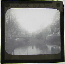 Magic lantern slide CHRISTCHURCH ON THE AVON C1910 NEW ZEALAND