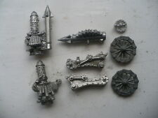 Citadel Warhammer classic 90s Chaos Dwarf Rocket Launcher with Crew oop