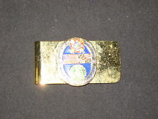 VFW Commander Ronald Dickens 2004-5  Dept of Maryland Money Clip    c1