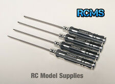 Turnigy Long Shaft Hex Allen Key 4pc Driver Set 1.5 2 2.5 3mm RC Car Plane Heli