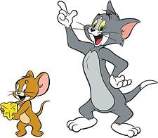 tom and jerry  VINYL WALL STICKER WALL DECALS