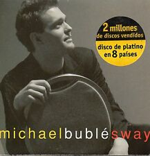 "MICHAEL BUBLE ""SWAY"" RARE & EXCLUSSIVE SPANISH PROMO CD SINGLE / GATICA - FOSTER"