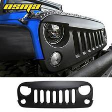 Eagle Eye Angry Bird Flat Black Front Grill Grill for 2007-2016 Jeep Wrangler JK