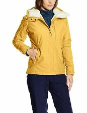 Eider Capitol Reef Women's 2LS waterproof Jacket size 12 Fr 40 BNWT Dark Corn