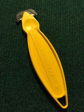Klever Kutter Koncept - Safety Cutter, Box Cutter YELLOW COLOR 1 each