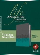 Life Application Study Bible NLT, Personal Size, TuTone by