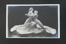 CPA nu féminin sculpture Salon Paris 1903 P. Breton - Les perles