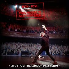 Bon Jovi This House Is Not For Sale Live From The London Palladium CD NEW 16DEC