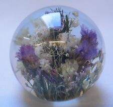 Hafod Grange Paperweight Mixed Flora - Small Size - Brand New in Box