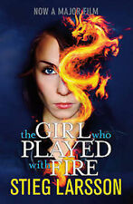 STIEG LARSSON _THE GIRL WHO PLAYED WITH FIRE _ BK 2_ BRAND NEW ___ FREEPOST UK
