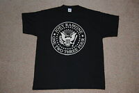 RAMONES JOEY RAMONE SEAL 1 2 3 4 T SHIRT XL NEW OFFICIAL HEY HO LET'S GO PUNK