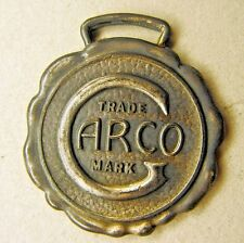 c.1910 GARCO General Asbestos Rubber Company Pittsburgh CHARLOTTE SC watch fob +