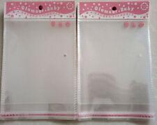 100PCS 10x15cm Food Grade Cello Bag Open End Candy Lollipop Cake Moisture-proof