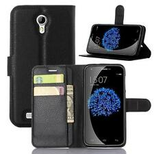 QW Wallet Holder Leather Pouch Case Cover For Doogee Valencia 2 Y100/Y100 Pro
