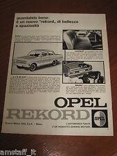 AF22=1963=OPEL REKORD=PUBBLICITA'=ADVERTISING=WERBUNG=