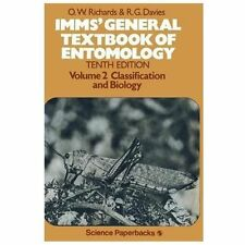 Imm's General Textbook of Entomology Vol. 2 : Classification and Biology...