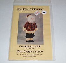"BEAN POLE ""PIPE""STERS PVC PIPE CHARLIE CLAUS PATTERN ONLY 1993 USA OOP"