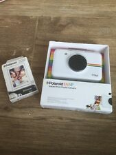 Polaroid Snap Instant Digital Camera ZINK Zero Ink Printing Technology Film