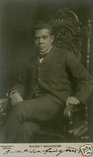 BOOKER T WASHINGTON (1856-1915) Signed Photograph Educator & Civil Rights Leader