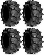 4 - KENDA EXECUTIONER ATV MUD TIRES 2 - 25x8-12 & 2 - 25x10-12  FULL SET OF 25""