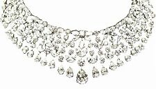 GIA CERTIFIED DIAMOND PEAR MARQUISE ROUND BRILLIANT SHAPE NECKLACE
