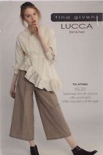 PATTERN - Lucca Shirt & Pants - women's sewing PATTERN from Tina Givens