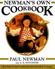 Newman's Own Cookbook by A. E. Hotchner and Paul Newman (1998, Hardcover)