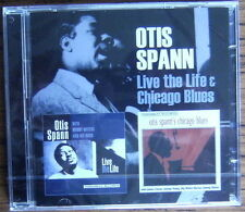OTIS SPANN Live The Life & Chicago Blues 2 CD (2016) NEW & SEALED