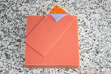 Zuschnittplatte Acrylglas 3 mm neon orange 2 Stück 200 x 100 x 3mm