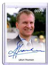 James Bond 50th Anniversary series 2  Ulrich Thomsen auto