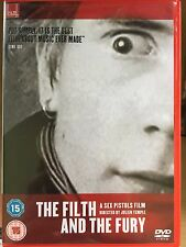 FILTH AND THE FURY ~ 2000 Julien Temple Sex Pistols / Punk Rock Documentary DVD
