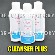 BF 3X New Nail Art Tip Acrylic UV Gel Polish Cleanser Plus Remover Cleaner #18