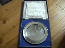 SUPERBA SOLID SILVER Royal Jubilee ANNIVERSARIO PIASTRA London 1977