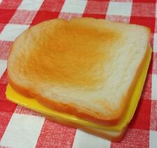 Realistic Faux Fake Food Grilled Cheese Sandwich Display Stage Photo Movie PROPS