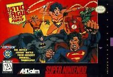 Justice League Task Force (Super Nintendo, 1995) DC SUPER HERO