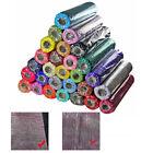 4.5mx50cm Organza Soft Sheer Fabric Roll Wedding Chair Bows Sash Table Runner YW