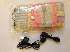 USB PC/Laptop Warmer Gloves - Colorful Pink & Blue