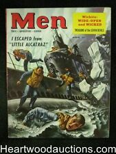 Men Mar 1953 Submarine thru iceberg cover, Boxing, Bullfighting - High Grade