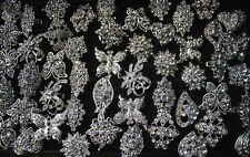 Wholesale Mixed lots 20pcs rhinestone adjustable alloy Women ring Top Quality