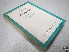 PASTORALES J-F POWERS NOUVELLES AUX EDITIONS DU SEUIL 1959 *