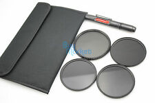 55mm IR720nm+850nm+950nm IR Infrared + Variable Fader ND Filter Set for DSLR+Pen