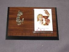 t16 Vintage Wood Plaque REMEMBERANCE OF MY FIRST COMMUNION Girl