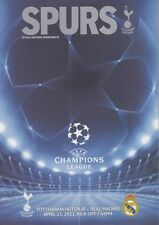 TOTTENHAM v REAL MADRID CHAMPIONS LEAGUE 2010/11 SPURS