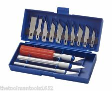 17 Piece Exacto Knife Kit / Set For Hobby , Scrapbooking , Crafts , and Shop