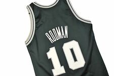 MENS 44 Dennis Rodman #10 San Antonio Spurs Champion NBA Basketball Jersey
