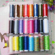 Sewing Thread 24 Lot Polyester Spools All Purpose Sewing And Quilting Threads