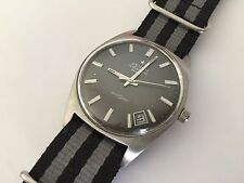 Zenith Autosport 28800 Automatic Grey Face Vintage Watch 1970's